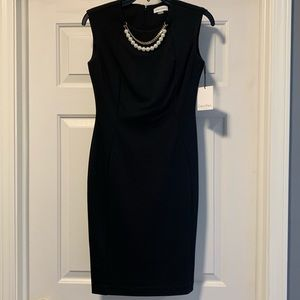 Calvin Klein Black Dress New With Tags